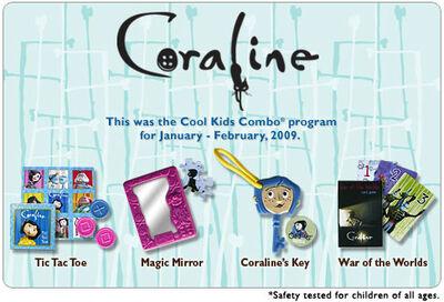 Hardees 2009 Coraline