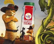 McD UK Puss in Boots milk