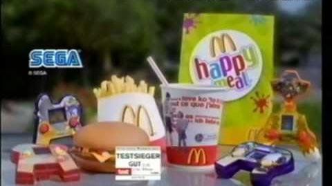 SEGA Toys McDonalds