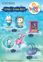 McD Malaysia Doraemon 2011