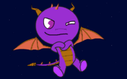 Spyro (Verison Happy Tree Friend)