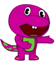 OC Tree Friend - Barney the Dinosaur