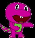 OC Tree Friend - Barney the Dinosaur