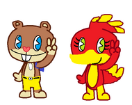 banjo kazooie in htf style made by me
