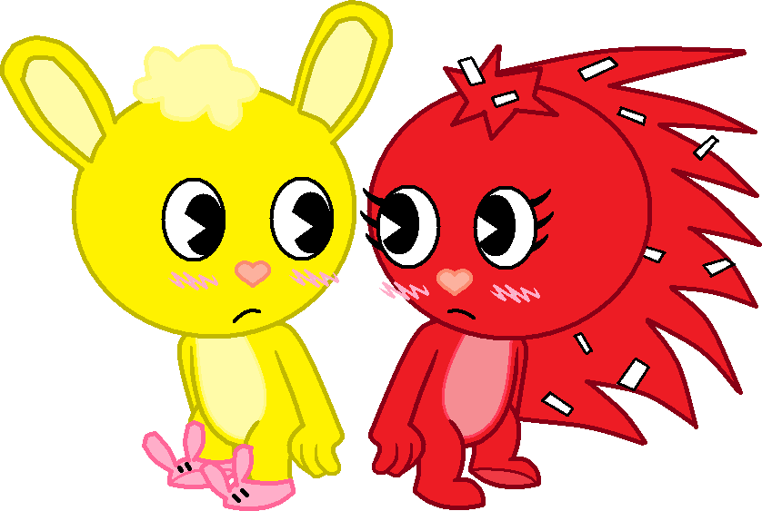 happy tree friends flippy and flaky relationship