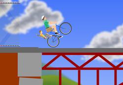 Speed Bridge wheelie