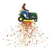 Mowing 3 Fruits