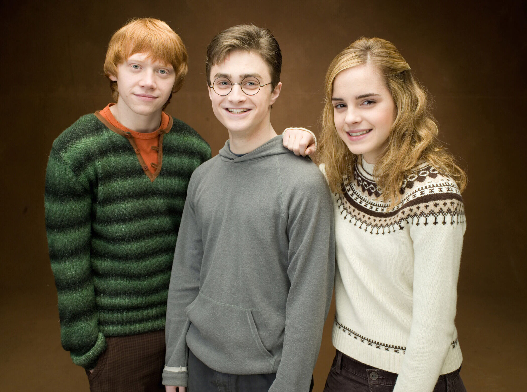 Trio harry potter wiki fandom powered by wikia - Hermione granger et ron weasley ...