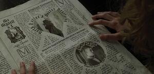 Daily Prophet - Harry Potter's Secret Heartache - 1994
