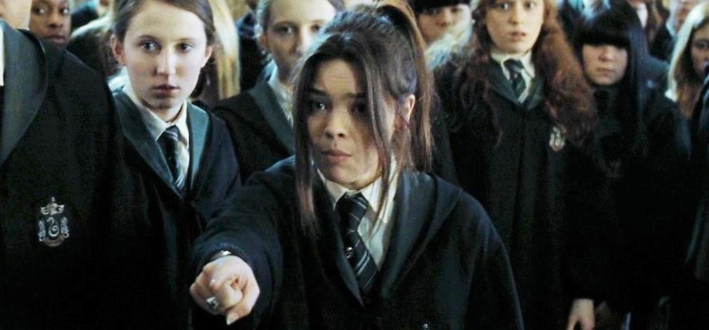 Image - Pansy battle jpg Harry Potter Wiki FANDOM