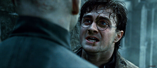 Deathly hallows harry upset