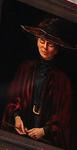 Unidentified Sleeping Headmistress with Wand