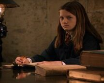 Ginny and diary