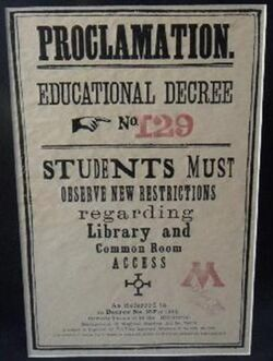 Educational Decree 129