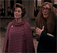 Umbridge and Trelawney
