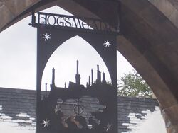 Hogsmeade sign (Wizarding World of Harry Potter Theme Park) 02
