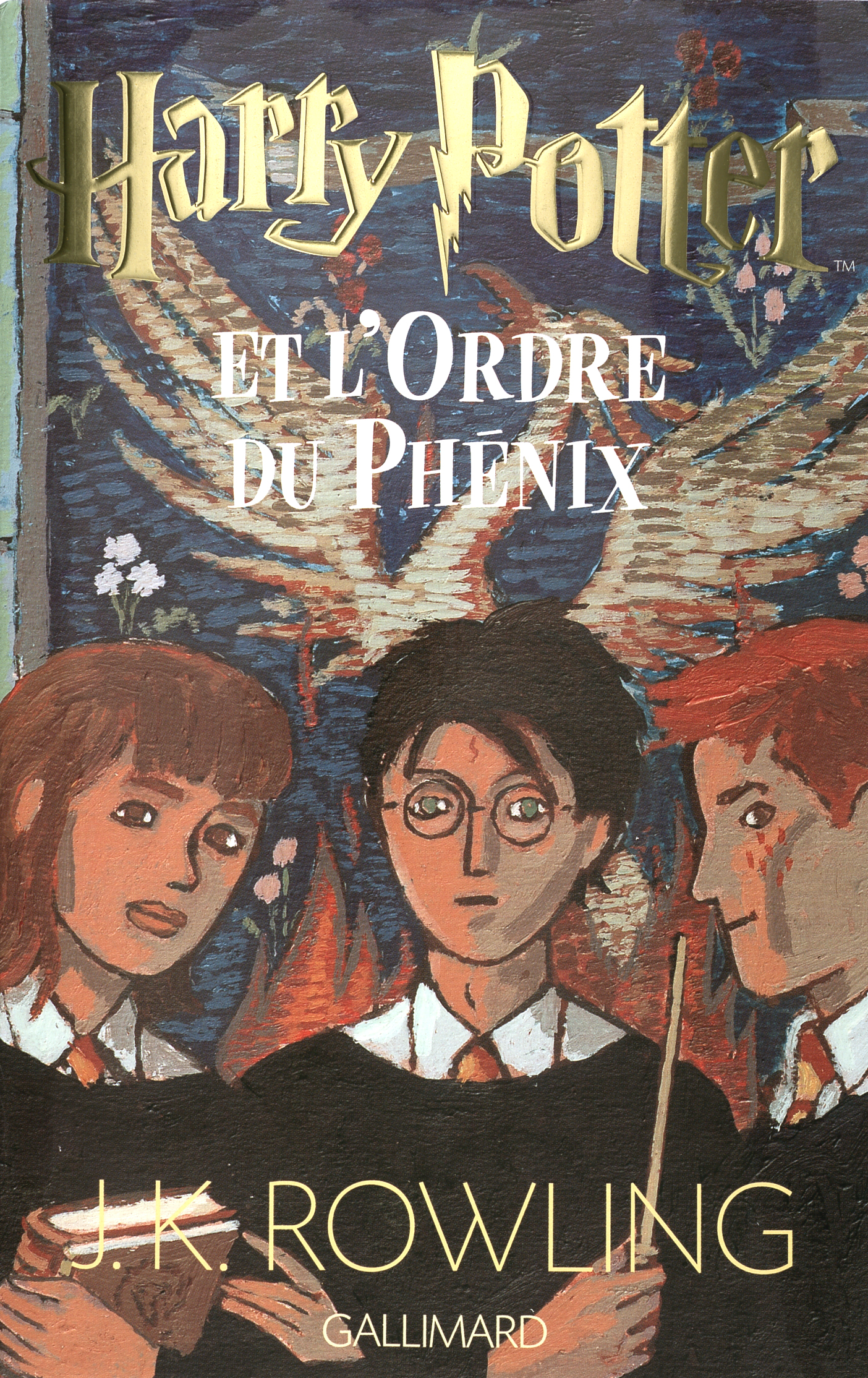 Harry Potter Book Wiki : Image french book cover g harry potter wiki