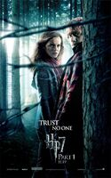 Harry Potter and the Deathly Hallows Part I Teaser One Sheet Movie Poster - Trust No One - Emma Watson as Hermione Granger & Rupert Grint as Ron Weasley