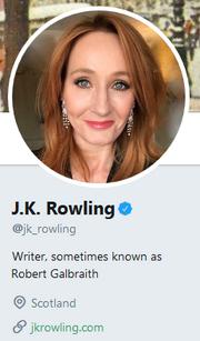 RowlingTwitterProfile