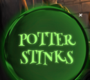 Potter Stinks badge