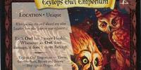 Eeylops Owl Emporium (Trading Card)