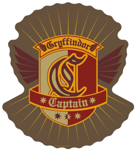 File:Gryffindor Quidditch Captain Patch.png
