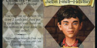 Justin Finch-Fletchley (Trading Card)