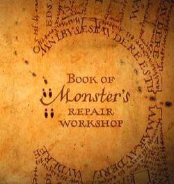 Book of monster's repair workshop