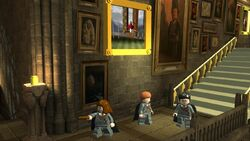 Lego2 Grand Staircase trio