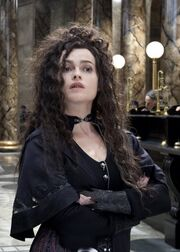 Bellatrix in Gringotts