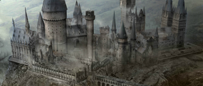 Hogwarts Castle in the Daethly Hallows