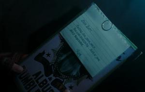Rita Skeeters Note for Bathilda Bagshot