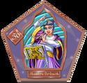Musidora Barkwith-50-chocFrogCard