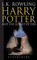 HP the Goblet of Fire adult edition
