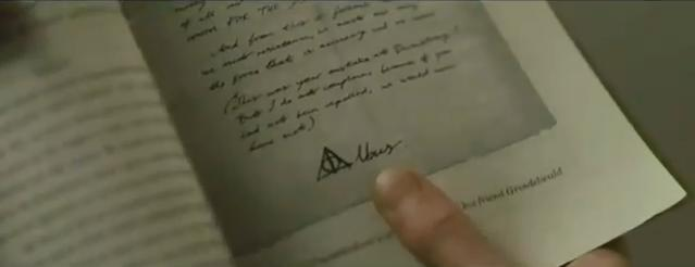 File:Dumbledore's letter to Grindelwald.JPG