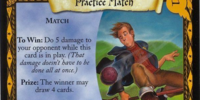 Practice Match (Trading Card)