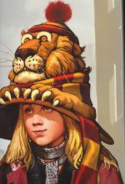 Luna's Lion Hat - Concept Art