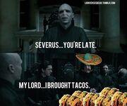Potter-tacos
