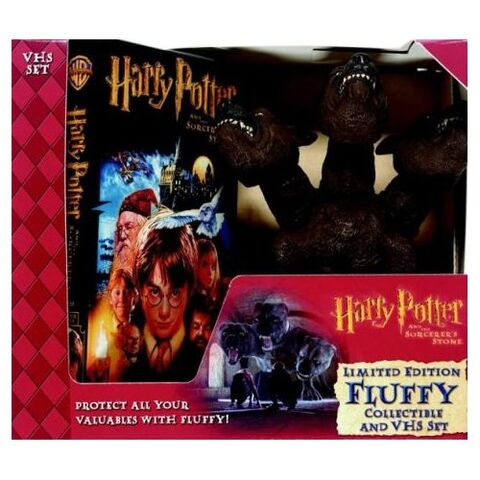 File:Harry Potter and the Sorcerer's Stone Gift Set With Fluffy Collectible (VHS) (2001).jpg
