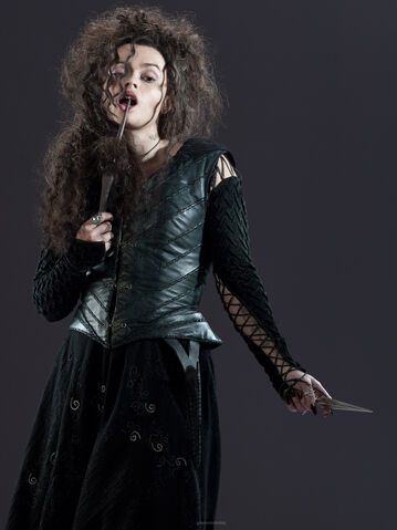 File:DH Promo- Bellatrix Lestrange with her wand and dagger.jpg