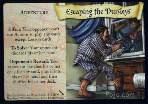 File:Escaping the Dursleys (Harry Potter Trading Card).jpg