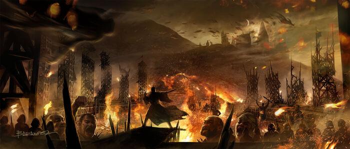 Concept artwork 2 Battle of Hogwarts