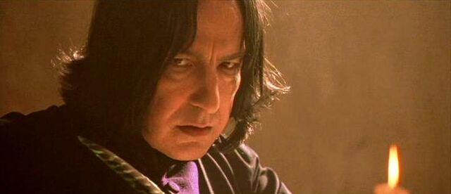File:Prof. Snape gave a look at Harry Potter (1991 Potions class).JPG