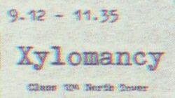 Xylomancy