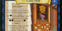 Wand Shop (Trading Card)