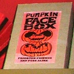 Pumpkin Face Box