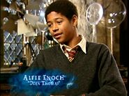 Alfie Enoch (Dean Thomas) HP4 screenshot