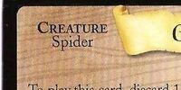Giant Tarantula (Trading Card)