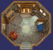 Hagrid's hut (interior)
