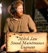 Mitch Low (HP5 Sound Maintenance Engineer)